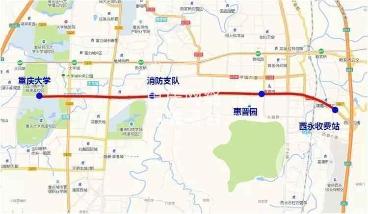 重庆主城地图9区全图