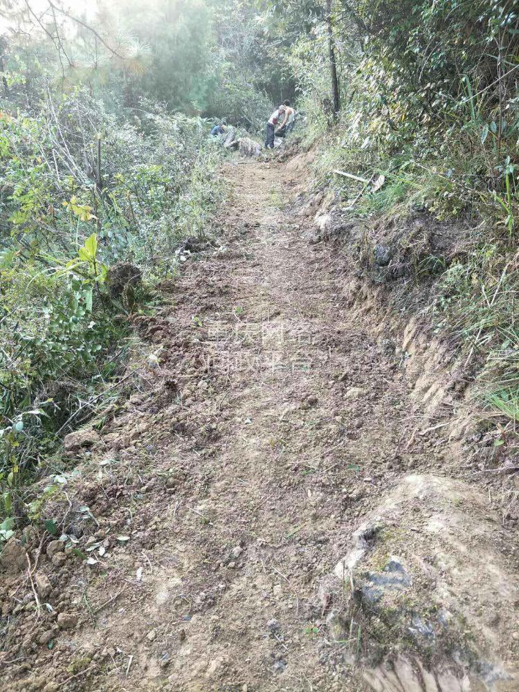 二       酉阳县庙溪乡荆竹距子岩  到处修路是不是规划的五公里,为