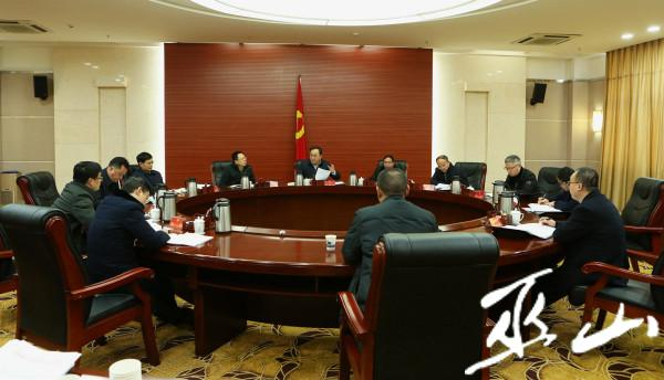 县委十四届56次常委会会议召开。卢先庆摄.JPG